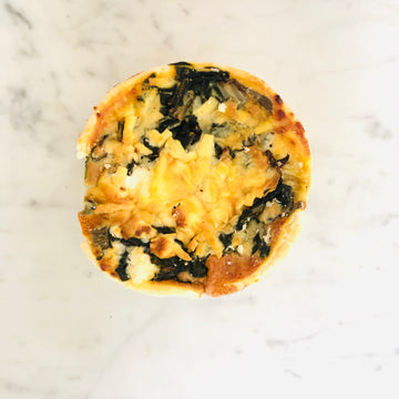 Spinach & Feta Quiche (1 serve)