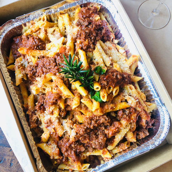 Family Size Bolognese with Penne Pasta