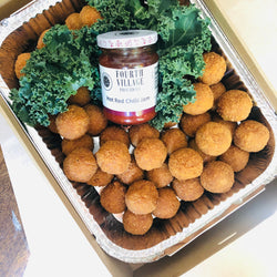 Fourth Village Arancini with FVP Hot Chilli Jam