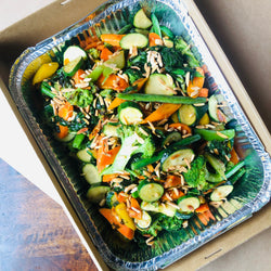 Family Sautéed Seasonal Vegetables with Almonds