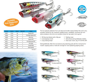3d Minnow Popper