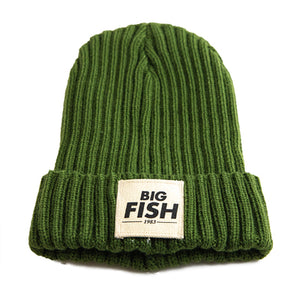 Big Fish Beanie Green