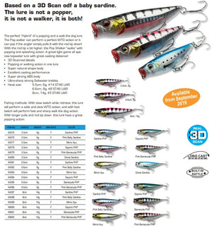 3D MINNOW POP WALKER