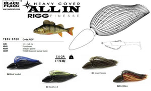 All In, Rigg Finesse 7.5g Jig