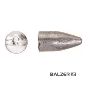 Bullet sinkers with beads