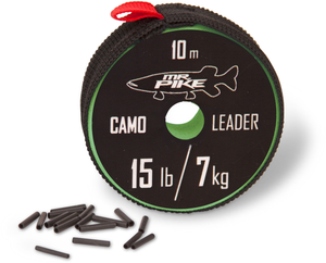 Mr. Pike Camo Coated Leader AFW