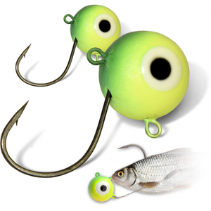 MR. PIKE FIRE-BALL JIGHEAD FIRETIGER 2STUKS