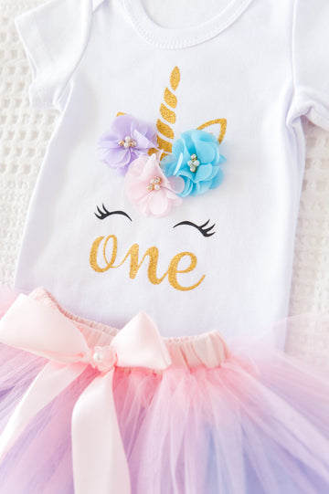 1st Birthday Rainbow Unicorn Set SOLD OUT