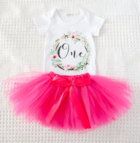 1st Birthday Tutu Set SOLD OUT