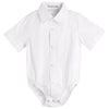 Shirt and shirtzie/ Jackson Formal - White