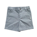 Baby Boys Dress Shorts - Light Blue Stripes