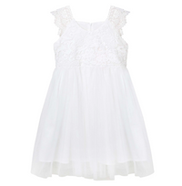 Angie Lace Bodice Dress