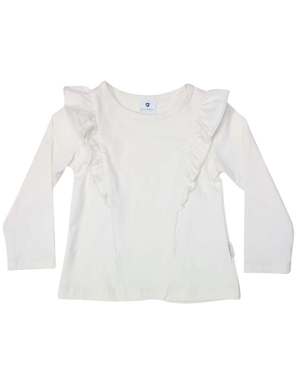 Frill Top - Ivory