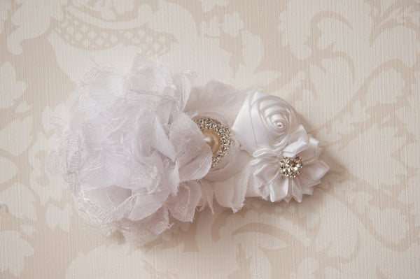 Wisteria White Headband ~2~