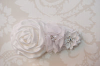 Wisteria White Headband ~5~