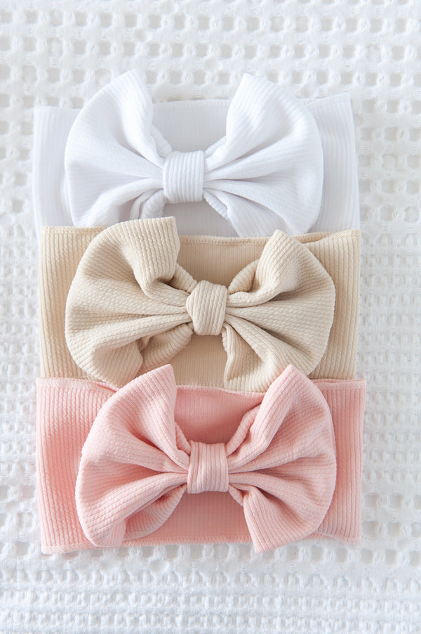 Large Bow headband - Pastel