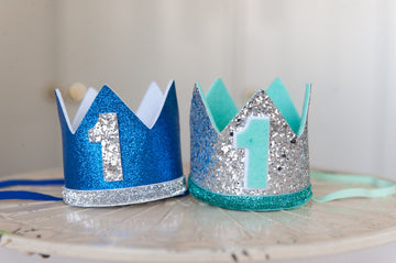 1st Birthday Crown - Blue SOLD OUT