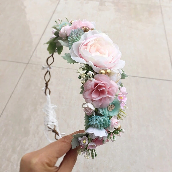 Annabelle Floral Crown