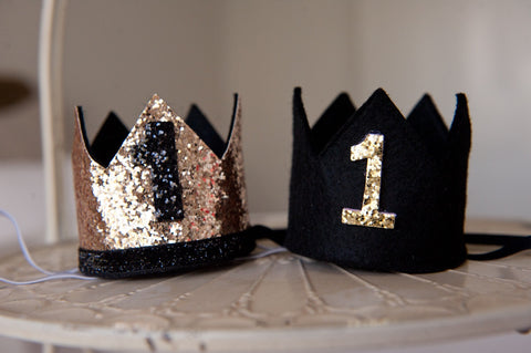 1st Birthday Crown