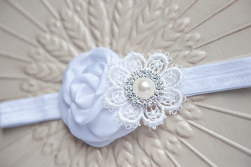 White Truffle Headband