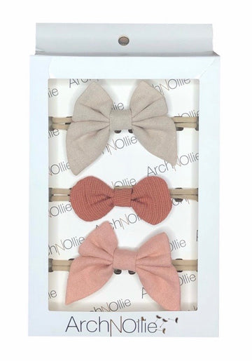 Dusk Bow Headband Set