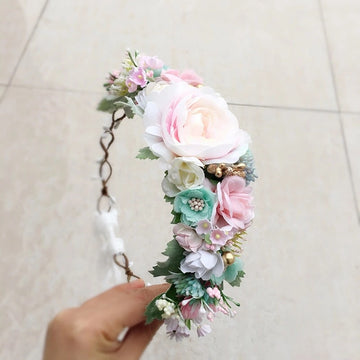 Annabelle Floral Crown - PRE ORDER
