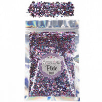 Pinl & Blue Mix Pixie Dust, Dry Glitter Blend