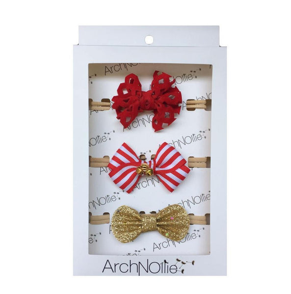 Christmas Box Bow Set