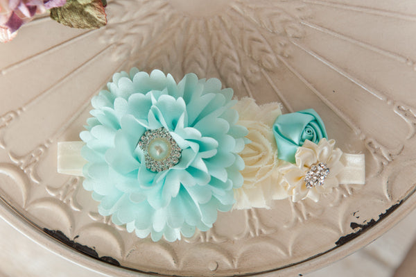 Minty Cream Headband