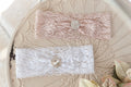 Lace Love Headband - White