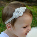 Vintage Bling Lace Headband