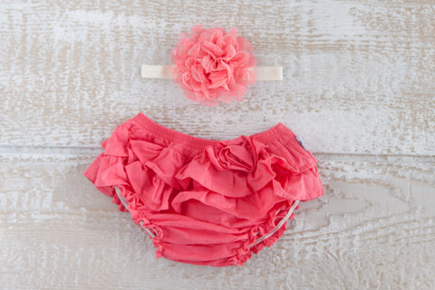 Frilly Bums - Coral