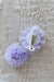 Unicorn Puff Clips - Purple