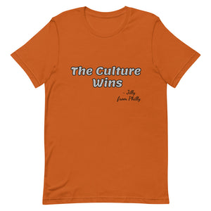 The Culture Wins Short-Sleeve Unisex T-Shirt