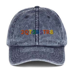 2QT2BSTR8 Pride Denim Cotton Hat