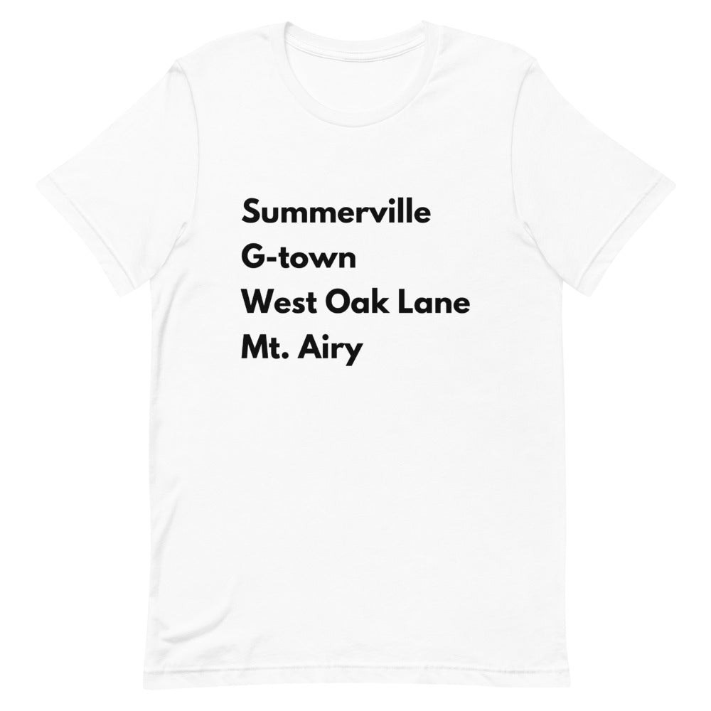 Calling all of Uptown Short-Sleeve Unisex T-Shirt