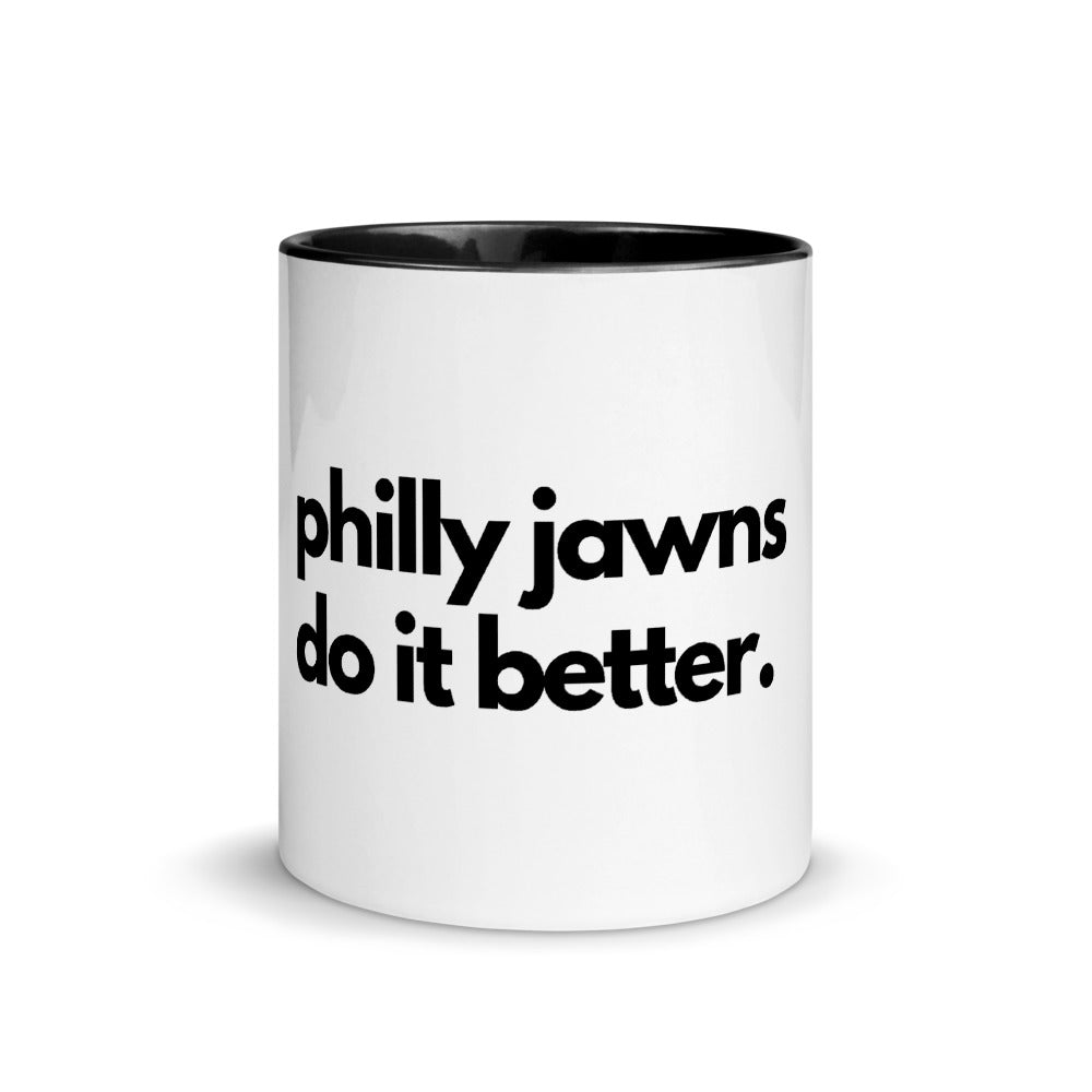 Philly Jawns Do It Better Mug with Color Inside