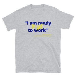 Pretty Poodles are Ready to Get to Work Short-Sleeve Unisex T-Shirt