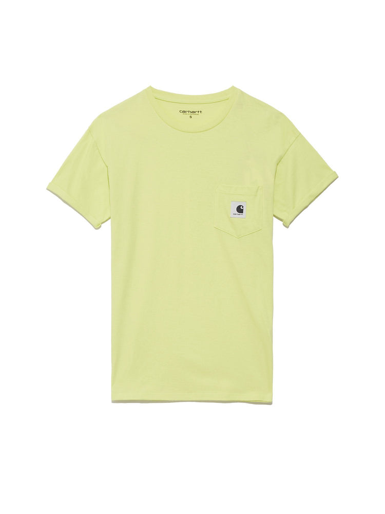 Футболка W' S/S Pocket T-Shirt Легкий трикотаж CARHARTT WIP