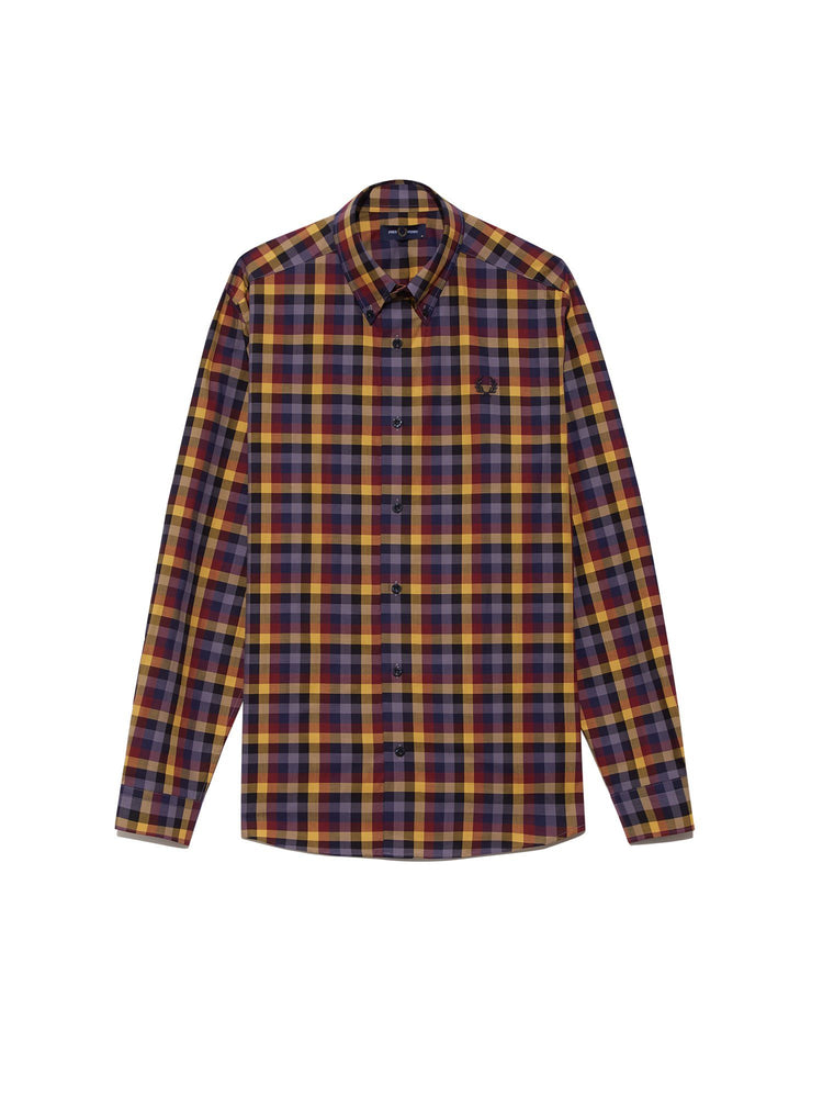 Рубашка 5 COLOUR GINGHAM Рубашки и поло FRED PERRY