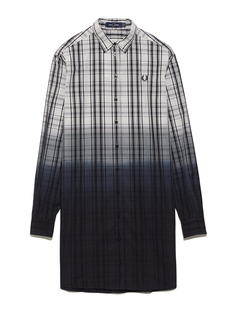 Платье OMBRE TARTAN SHIRT DRESS Платья FRED PERRY