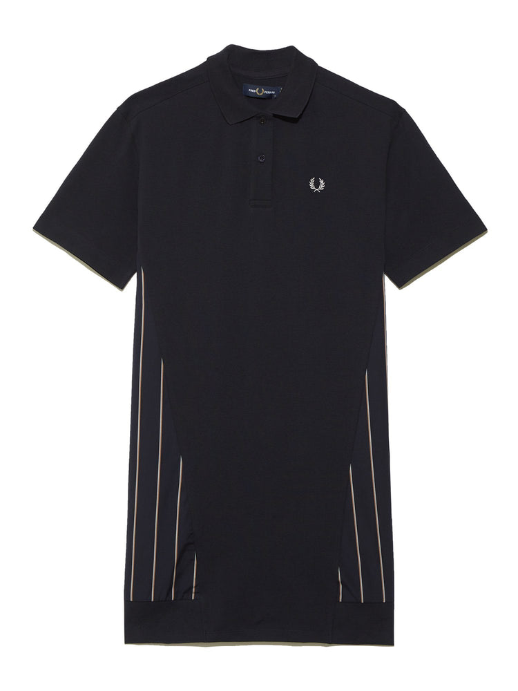 Платье WOVEN PANEL POLO SHIRT DRESS Платья FRED PERRY