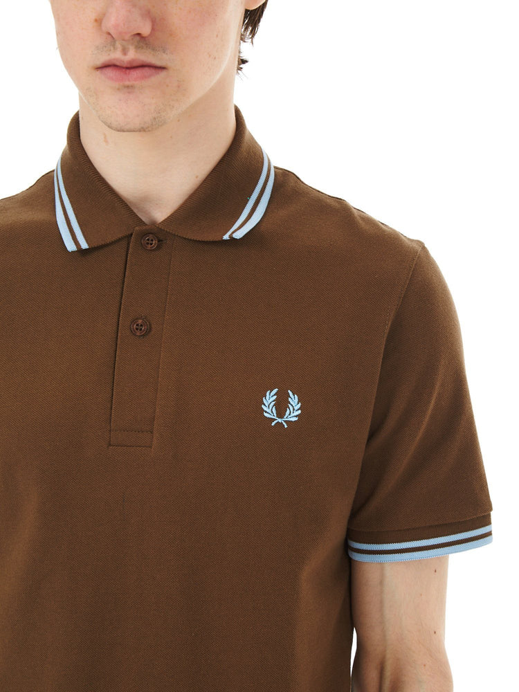 Рубашка поло TWIN TIPPED Рубашки и поло FRED PERRY