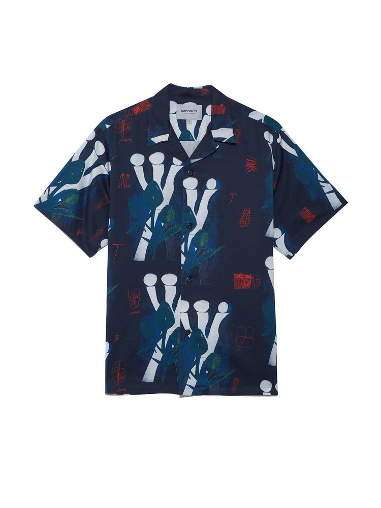 Рубашка S/S Tom Król Flowers Shirt Рубашки и поло CARHARTT WIP