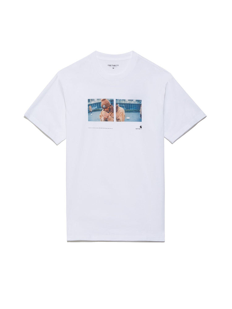 Футболка S/S Backyard T-Shirt Легкий трикотаж CARHARTT WIP