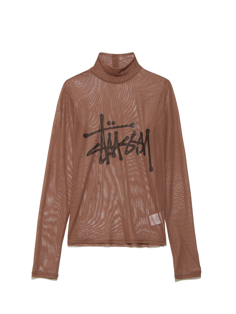 Футболка LAYER LS TEE Легкий трикотаж STUSSY