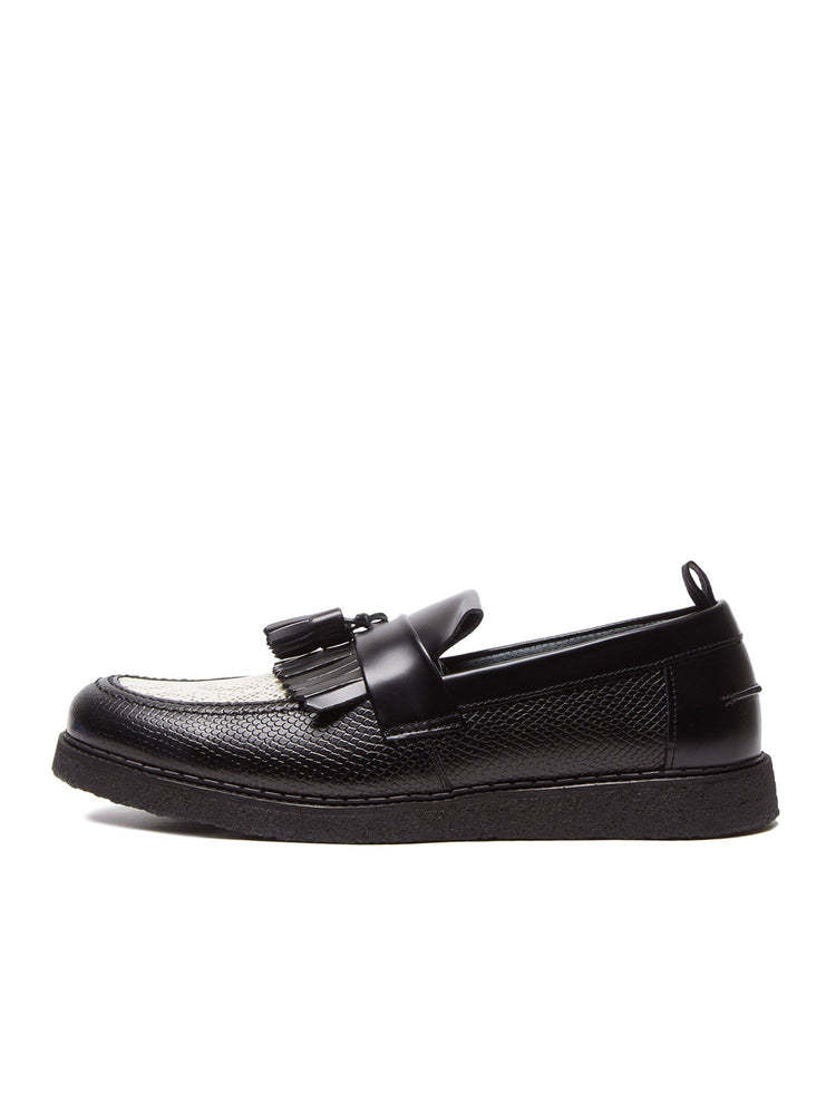 Ботинки FP X GC EMBOSSED TASSEL LOAFER Обувь FRED PERRY