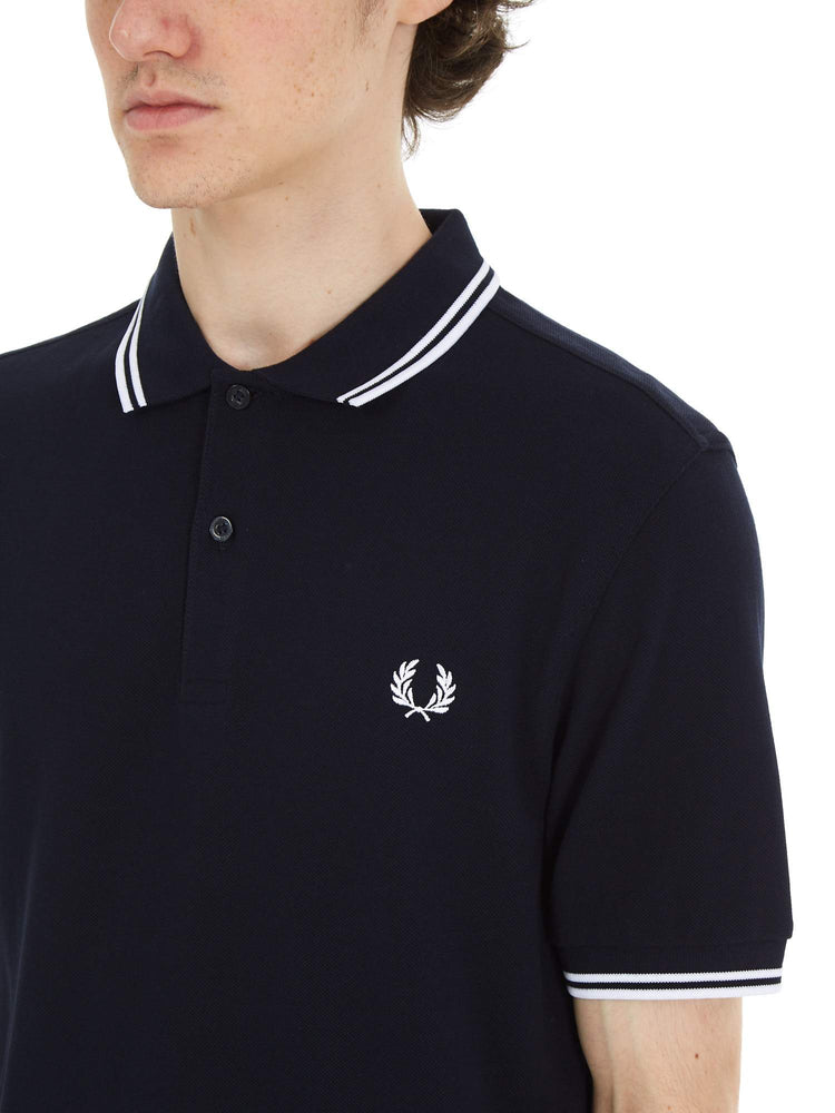 Рубашка поло TWIN TIPPED FRED PERRY SHIRT Рубашки и поло FRED PERRY