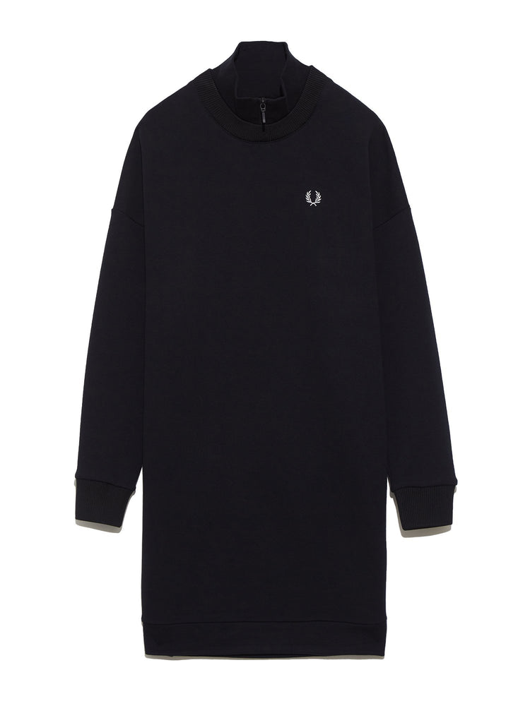 Платье ZIP NECK SWEATSHIRT DRESS Платья FRED PERRY