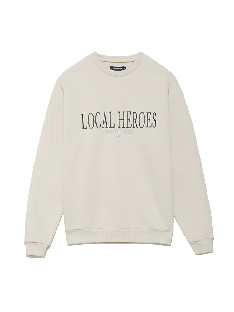 Толстовка OVERSIZED WITH BREAKING RULES EMBROIDERY Свитера и толстовки LOCAL HEROES